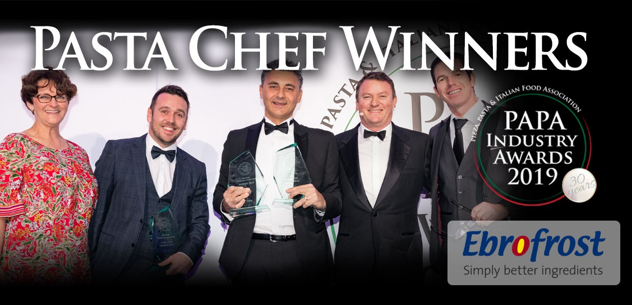 Uberto Scaparti named as Pasta Chef of the Year 2019