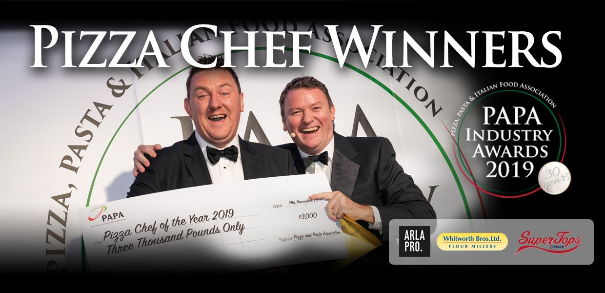 Mark Baber named Pizza Chef of the Year 2019